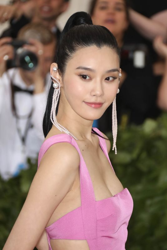 MING XI at MET Gala 2018 in New York 05/07/2018