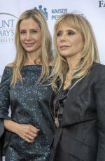 MIRA SORVINO at 20th Annual From Slavery to Freedom Gala in Los Angeles 05/10/2018