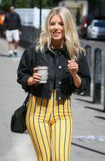MOLLIE KING Arrives at BBC Radio in London 05/14/2018