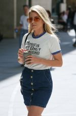 MOLLIE KING Arrives at BBC Radio One in London 05/15/2018