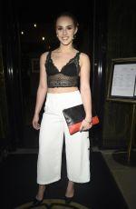 MOLLIE WINNARD at Hotel Gotham 3rd Birthday Party in Manchester 05/24/2018