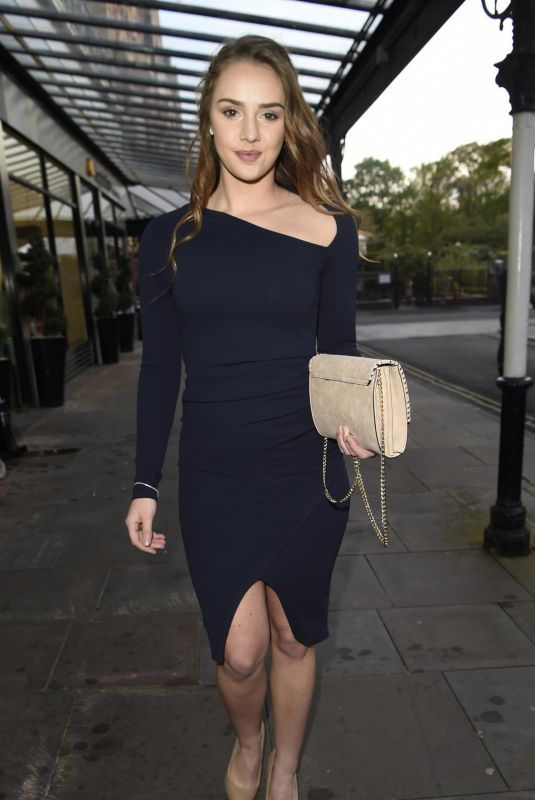 MOLLIE WINNARD at House of Evelyn VIP Launch Party in Southport 05/10/2018