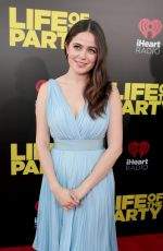 MOLLY GORDON at Life of the Party Premiere in Auburn 04/30/2018