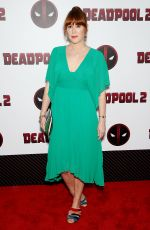 MOLLY RINGWALD at Deadpool 2 Special Screening in New York 05/14/2018