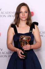MOLLY WINDSOR at Bafta TV Awards in London 05/13/2018
