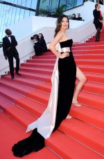 MORAN ATIAS at Ash is Purest White Premiere at Cannes Film Festival 05/11/2018