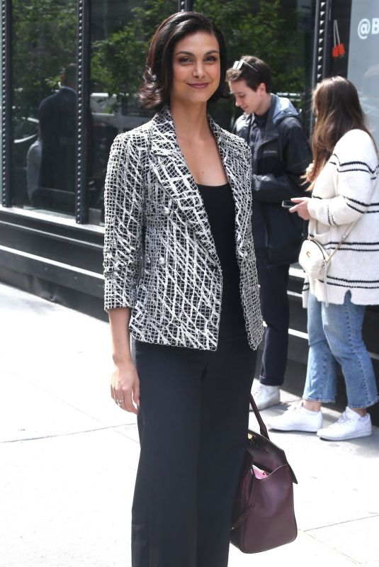 MORENA BACCARIN Arrives at Build Series in New York 05/14/2018