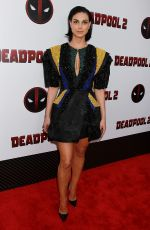 MORENA BACCARIN at Deadpool 2 Premiere in New York 05/14/2018