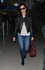 MORENA BACCARIN at LAX Airport in Los Angeles 05/17/2018