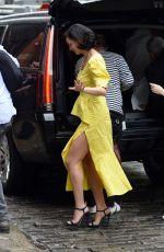 MORENA BACCARIN Leaves NBC Studios in New York 05/16/2018