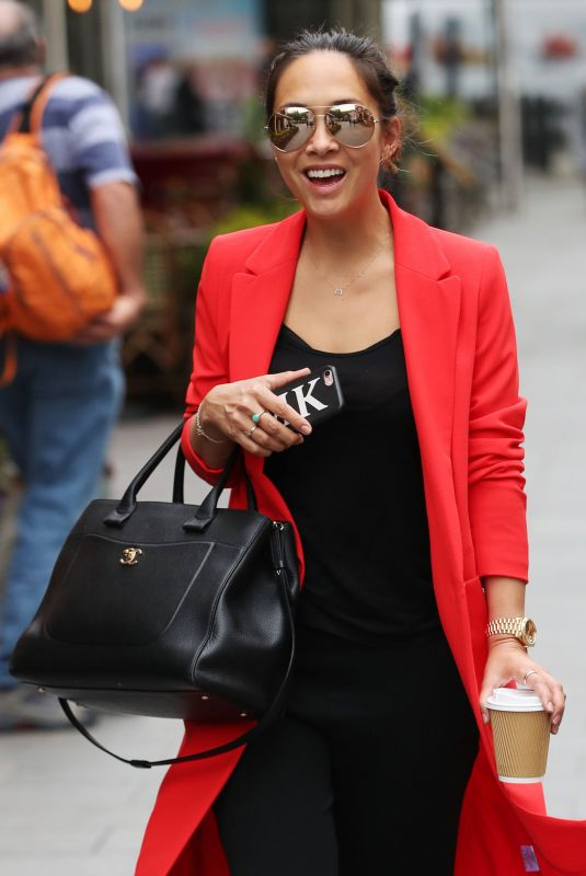 MYLEENE KLASS at Global House in London 05/30/2018