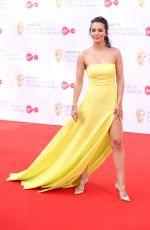 NADINE MULKERINN at Bafta TV Awards in London 05/13/2018