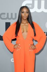 NAFESSA WILLIAMS at CW Network Upfront Presentation in New York 05/17/2018