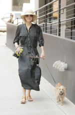 NAOMI WATTS Out with Her Dog in New York 05/03/2018