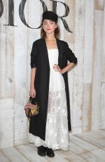 NATALIA DYER at Christian Dior Couture Cruise Collection Photocall in Paris 05/25/2018
