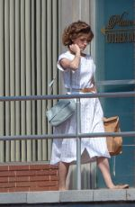 NATALIA DYER on the Set of Stranger Things in Lithonia 05/10/2018
