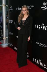 NATALIE DORMER at In Darkness Premiere in Hollywood 05/23/2018