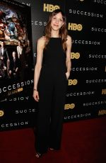 NATALIE GOLD at Succession Show Premiere in New York 05/22/2018
