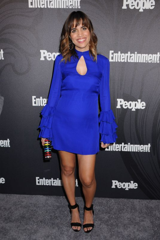 NATALIE MORALES at EW & People New York Upfronts Celebration 05/14/2018