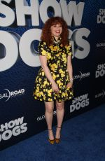 NATASHA LYONNE at Show Dogs Premiere in New York 05/05/2018