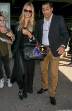 NATASHA POLY Arrives at Nice Airport 05/11/2018