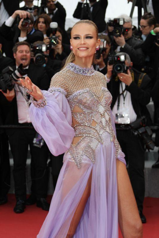 NATASHA POLY at Blackkklansman Premiere at Cannes Film Festival 05/14/2018