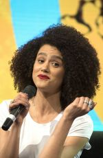 NATHALIE EMMANUEL at HBO Panel at Comic-con in Buenos Aires 05/27/2018