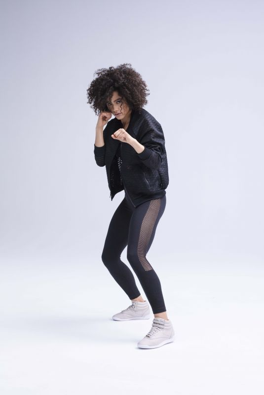 NATHALIE EMMANUEL for Reebok 2018 Womens Training Collection