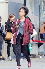 NATHALIE EMMANUEL Out in Notting Hill 05/16/2018
