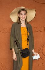 NEOMIE SCHMIDT at Village at Roland Garros in Paris 05/28/2018