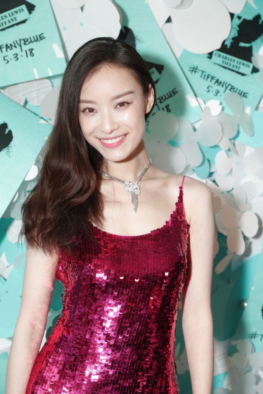 NI NI at Tiffany & Co. Jewelry Collection Launch in New York 05/03/2018