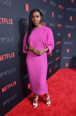 NIA JERVIER at Netflix FYSee Kick-off Event in Los Angeles 05/06/2018