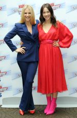 NICHELLE HUNZIKER and AURORA RAMAZZOTTI at Do You Want to Bet Show Photocall in Milan 05/03/2018