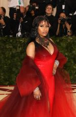 NICKI MINAJ at MET Gala 2018 in New York 05/07/2018