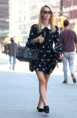 NICKY HILTON Out and About in New York 05/01/2018