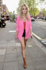 NICOLA HUGHES at Tell Your Friends Restaurant Launch in London 05/03/2018
