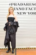 NICOLA PELTZ at Prada Resort: 2019 Show in New York 05/04/2018