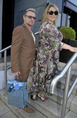 NICOLE BARBARA LANE Arrives Jennifer Metcalfes Baby Christening in Liverpool 05/20/2018