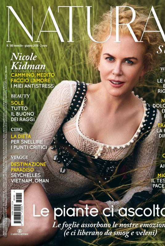 NICOLE KIDMAN in Natural Style, June 2018 Issue