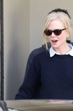 NICOLE KIDMAN Out and About in Sydney 05/10/2018