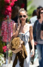 NICOLE RICHIE Out for Lunch in Los Angeles 05/17/2018