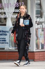 NICOLE RICHIE Out in Sherman Oaks 05/25/2018