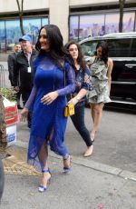 NIKKI and BRIE BELLA Arrives at NBS Studios in New York 05/16/2018