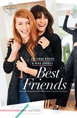 NINA DOBREV and JULIANNE HOUGH in People Magazine, April 2018 Issue