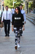 NINA DOBREV Leaves a Gym in New York 05/24/2018