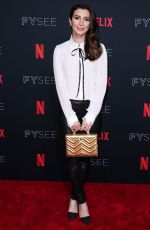 NOUREEN DEWULF at Netflix FYSee Kick-off Event in Los Angeles 05/06/2018