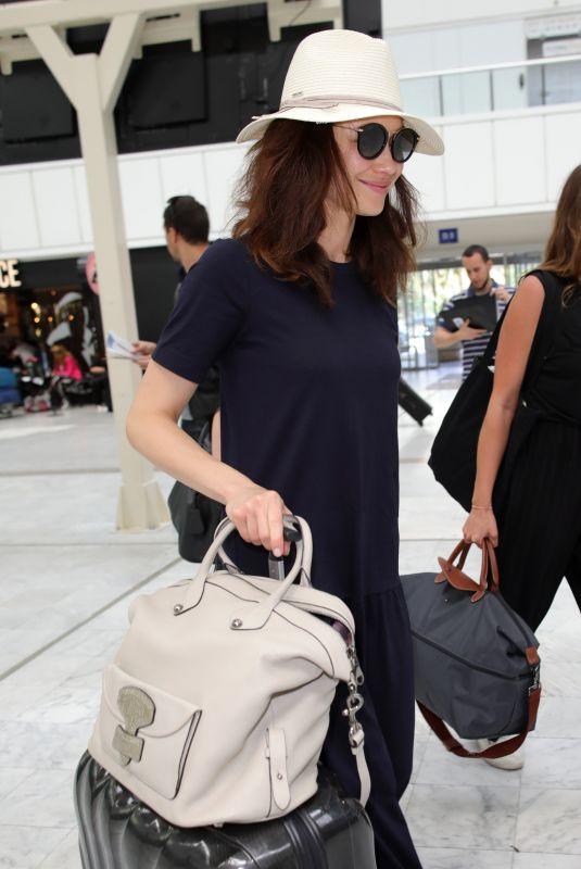 OLGA KURYLENKO at Nice Airport 05/20/2018