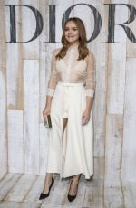 OLIVIA COOKE at Christian Dior Couture Spring/Summer 2019 Cruise Collection in Chantilly 05/26/2018