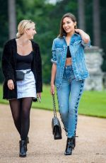 OLIVIA CULPO in Double Denim Out in London 05/31/2018