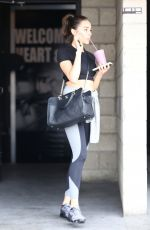 OLIVIA CULPO Leaves a Gym in Los Angeles 04/30/2018